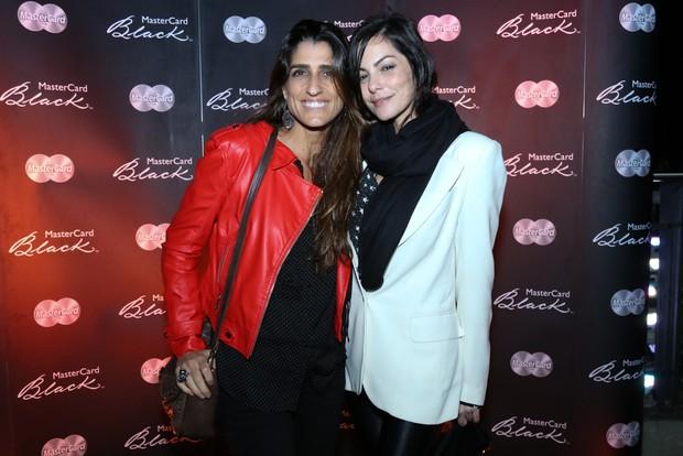 Cynthia Howlett e Diana Bouth (Foto: Roberto Filho/Brazil News)