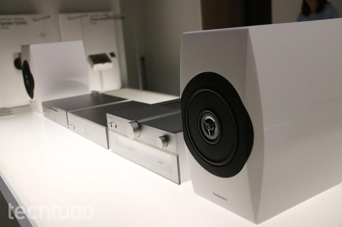 Linha Technics é uma das mais antigas da Panasonic (Foto: Fabrício Vitorino/TechTudo)
