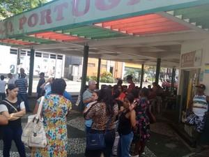 Funcionários estão sem receber o salário e os benefícios em Cubatão (Foto: Divulgação/Sindilimpeza)