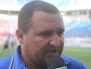 Higor César técnico do Globo FC (Foto: Fabiano de Oliveira)