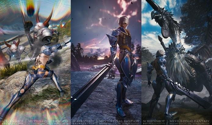 Mevius Final Fantasy é um novo título para Android e iOS (Foto: Divulgação)