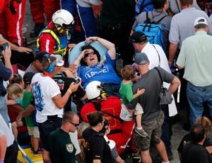 Acidente Nascar Daytona Kyle Larson (Foto: Reuters)