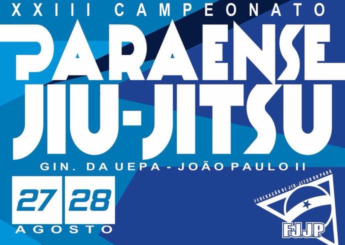 Inscrições para XXIII Paraense de Jiu-jitsu encerram na segunda-feira (Foto: Divulgação / FJJPA)