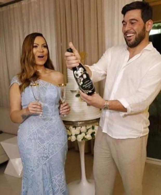 Casamento de Sol Almeida e Leandro Andriani (Foto: Reprodução/Instagram)