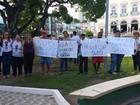 Assistentes sociais de Alagoas protestam contra reforma ministerial