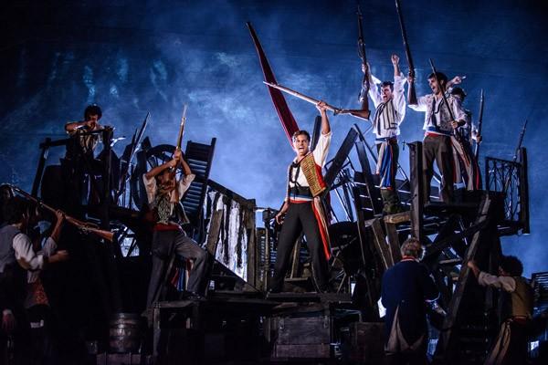 Les Misérables está em cartaz no Teatro Renault, em São Paulo (Foto: Divulgação)