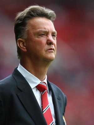 louis van gaal  Manchester United x Swansea  (Foto: Getty Images)