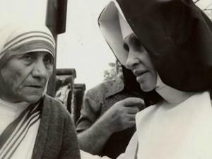 Madre Tereza e Irmã Dulce (Foto: Reprodução/TV Bahia)