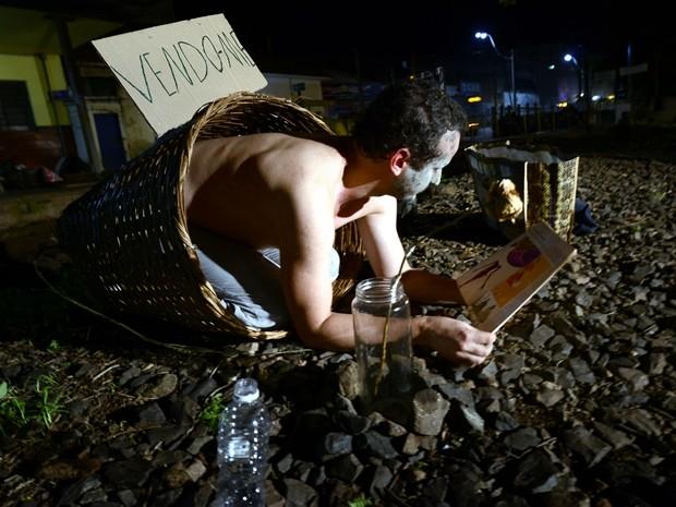 Artistas se apresentam em espetáculo por 12 horas em Rio Preto (Foto: Divulgação )