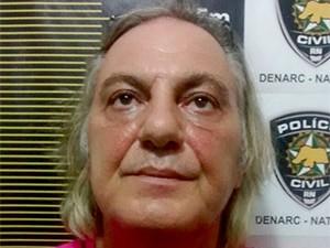italiano Roberto Stellati, de 57 anos, foi preso em abril deste ano suspeito de tráfico de drogas (Foto: Divulgação/Polícia Civil)
