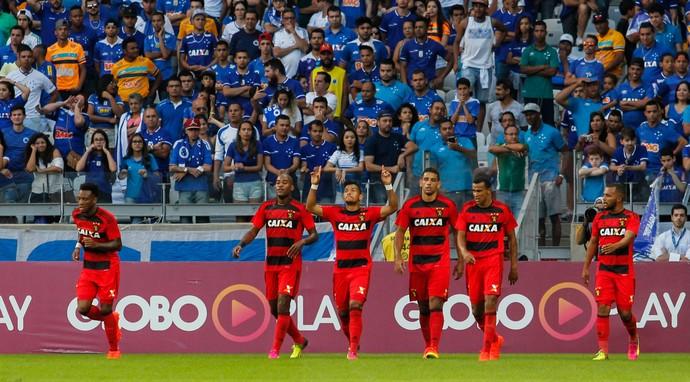 Cruzeiro x Sport (Foto: Agência Estado)