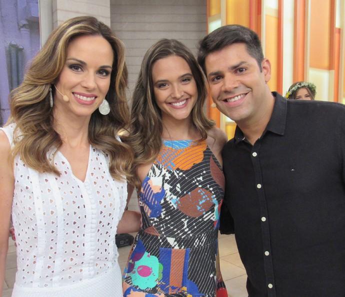Juliana Paiva participa do programa pela oitava vez! (Foto: Priscilla Massena/Gshow)