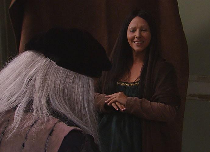 Zorra mostra como foi pintado o quadro da Monalisa (Foto: TV Globo)