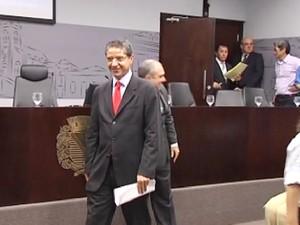 Cido Sério tomou posse na manhã desta terça-feira (Foto: Reprodução / TV Tem)