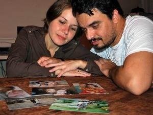 Alcino e Priscila precisaram se reconquistar e tiveram dois 'primeiros beijos'. (Foto: Rafael Zambe/ G1)