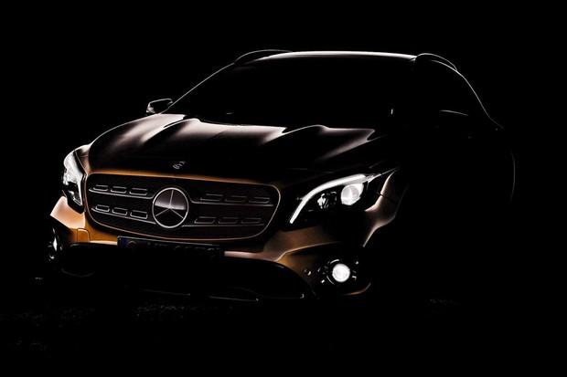 Vaza primeira imagem do Mercedes-Benz GLa reestilizado (Foto: Reprodução)