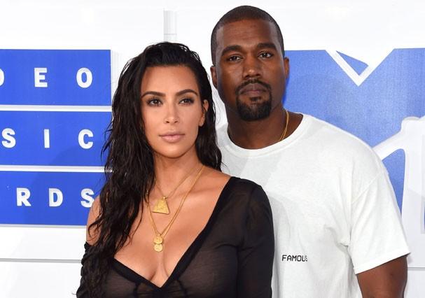 Kim e Kanye querem terceiro filho (Foto: Getty Images)