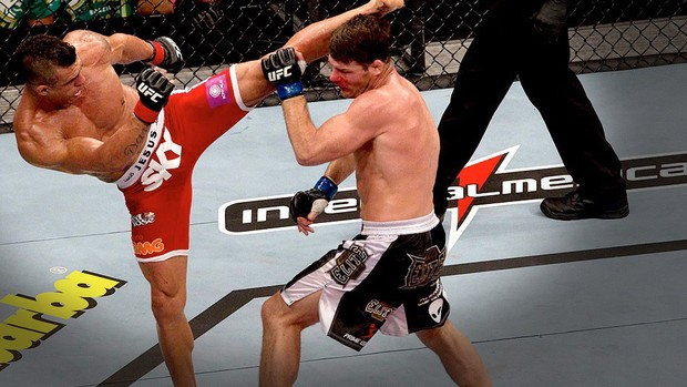 UFC São Paulo vitor belfort e michael Bisping (Foto: Luiz Fernando Menezes / Agência Estado)