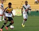 Depois de gol pelo Criciúma, Rodrigo Tiuí está confiante com a titularidade