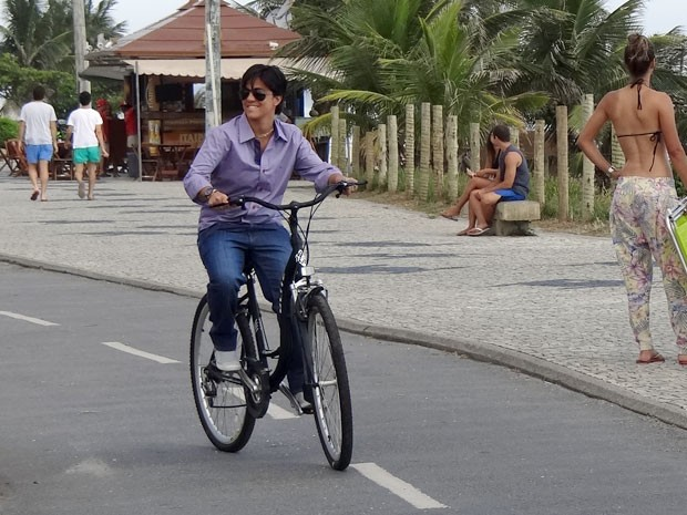 Thammy Miranda também participa das gravações (Foto: Salve Jorge/TV Globo)
