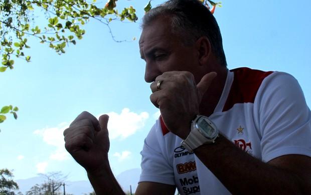 dorival junior flamengo entrevista  (Foto: Janir Júnior / Globoesporte.com)