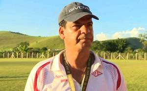 moacir junior tombense campeonato mineiro 2014 (Foto: Reprodução/TV Integração)