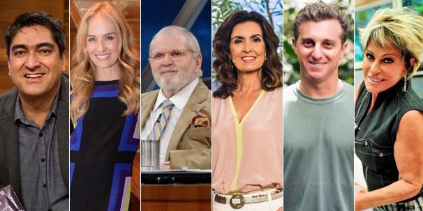 Os programas com apresentadores também estão cheios de novidades em 2014; confira (Foto: Globo)