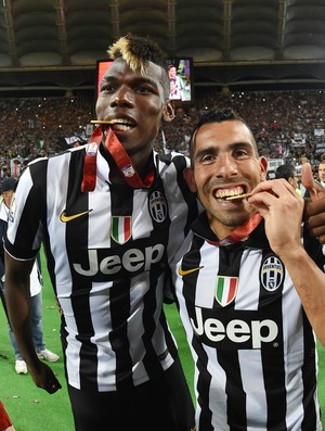 Pogba Tevez Juventus (Foto: Getty Images)