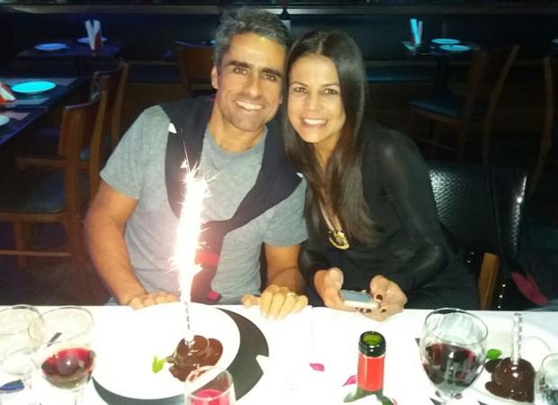 Nívea Stelmann e o marido, o empresário Marcus Rocha (Foto: Reprodução/Twitter)