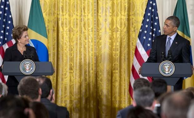 Depois de crise, relações entre Brasil e Estados Unidos entram em novo capítulo, segundo seus presidentes (Foto: AP Photo/Carolyn Kaster)