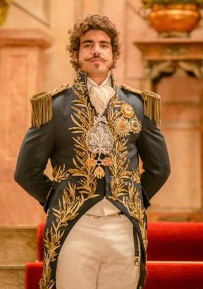 Caio Castro caracterizado como Dom Pedro para a novela Novo Mundo (Foto: Globo/Raquel Cunha)