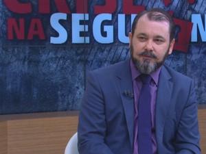 Emerson Wendt  é o novo chefe da Polícia Civil gaúcha (Foto: Reprodução/RBS TV)