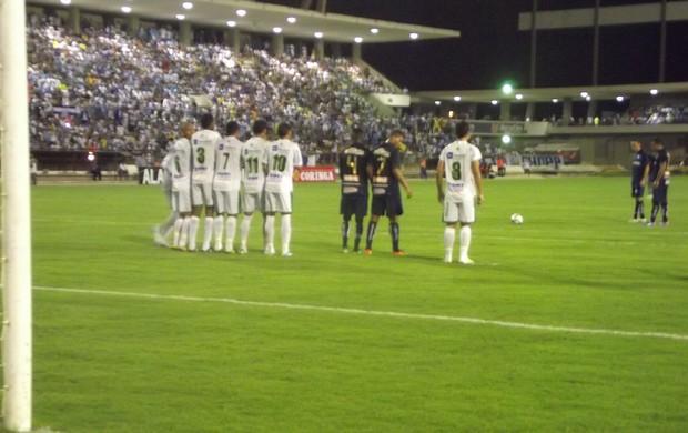 CSA venceu o Murici por 1 a 0 no Estádio Rei Pelé (Foto: Caio Lorena/Globoesporte.com)