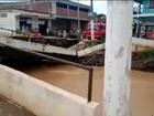 Vídeo flagra momento em que ponte cai em Santo Antônio de Pádua, no RJ