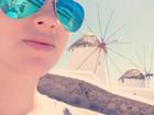 Fiuk se declara para Sophia: 'Pirando em Mykonos'