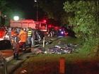 Delegado afirma que motorista estava em alta velocidade em acidente em SP