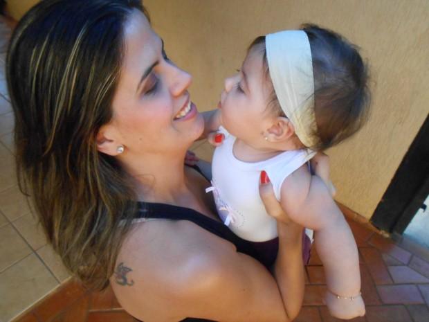 Mulher enfrenta risco de morte para ser mãe em Mato Grosso do Sul (Foto: Gabriela Pavão/ G1 MS)
