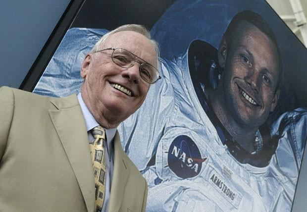 Neil Armstrong, primeiro homem a pisar na Lua. (Foto: Jose Jordan/AFP)