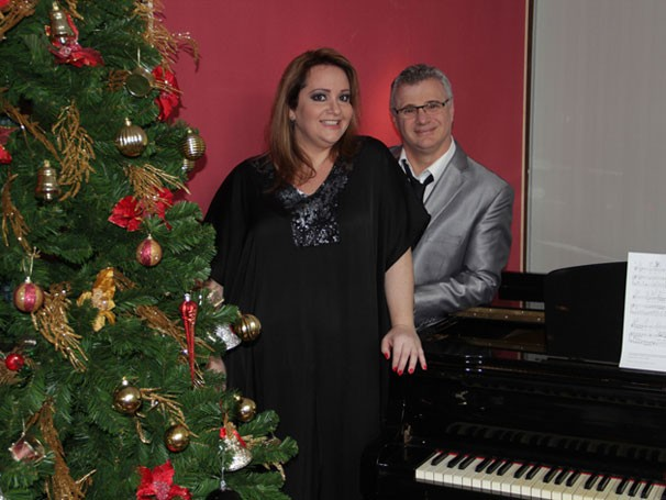 Tadeu Aguira e Gottsha em 'Um Natal Para nós Dois' (Foto: Divulgação)
