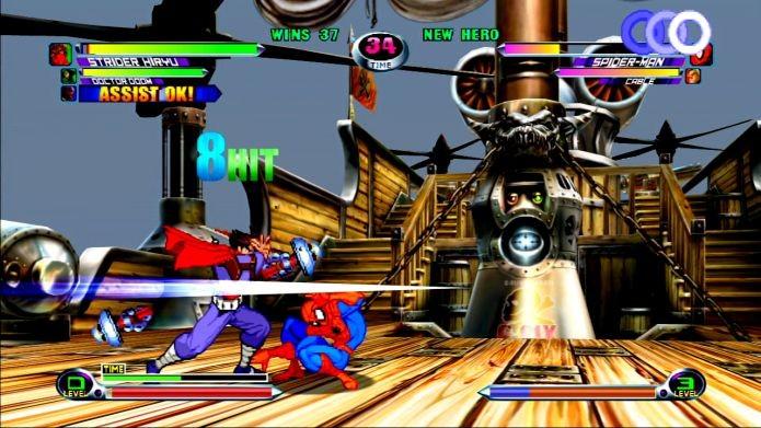 Strider, o personagem favorito de Glauber Kotaki, participou de jogos como Marvel vs Capcom (Foto: Reprodução)
