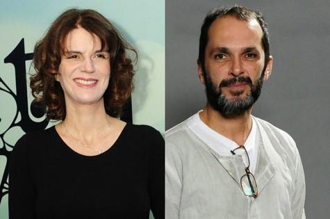 Lícia Manzo e José Luiz Villamarim (Foto: Estevam Avellar/TV Globo)