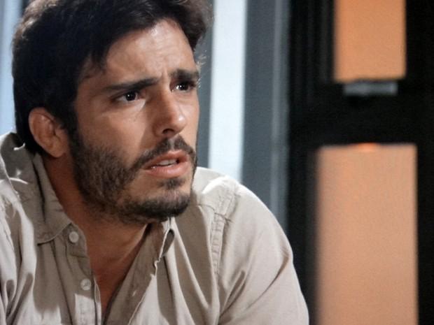 William está preocupado com Marlon (Foto: Além do Horizonte/TV Globo)