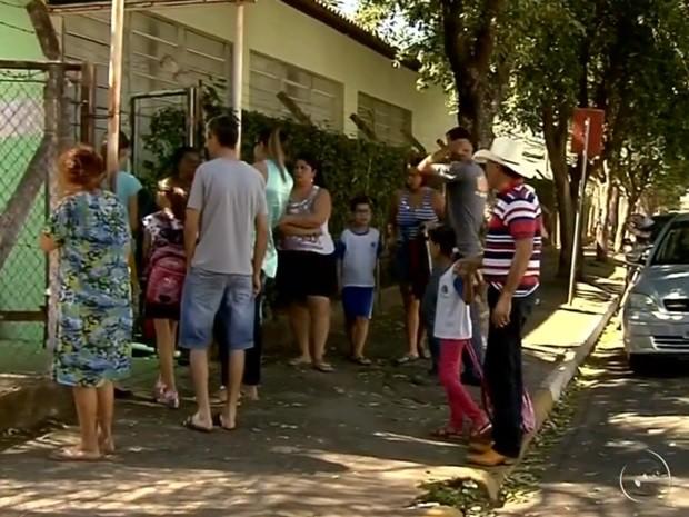 Escola Euza Neuza atende 600 crianças do 1º ao 5º ano (Foto: Reprodução / TV TEM)