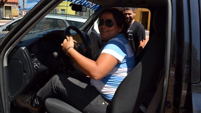 Cleidiane Marmo é motorista da TV Mirante (Foto: Divulgação/TV Mirante)