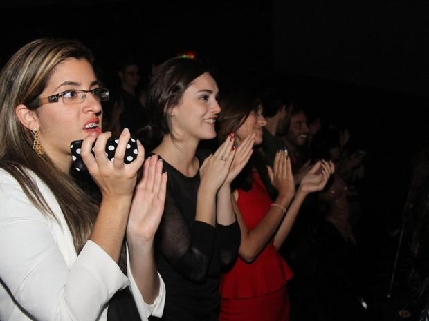 Isabelle Drummond em show em São Paulo (Foto: Leo Franco/ Ag. News)
