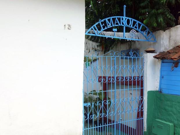 Terreiro de Alaketu fica no bairro de Brotas, em Salvador (Foto: Egi Santana/G1)