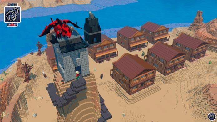 Lego Worlds é o novo game criado para competir com Minecraft (Foto: Divulgação)