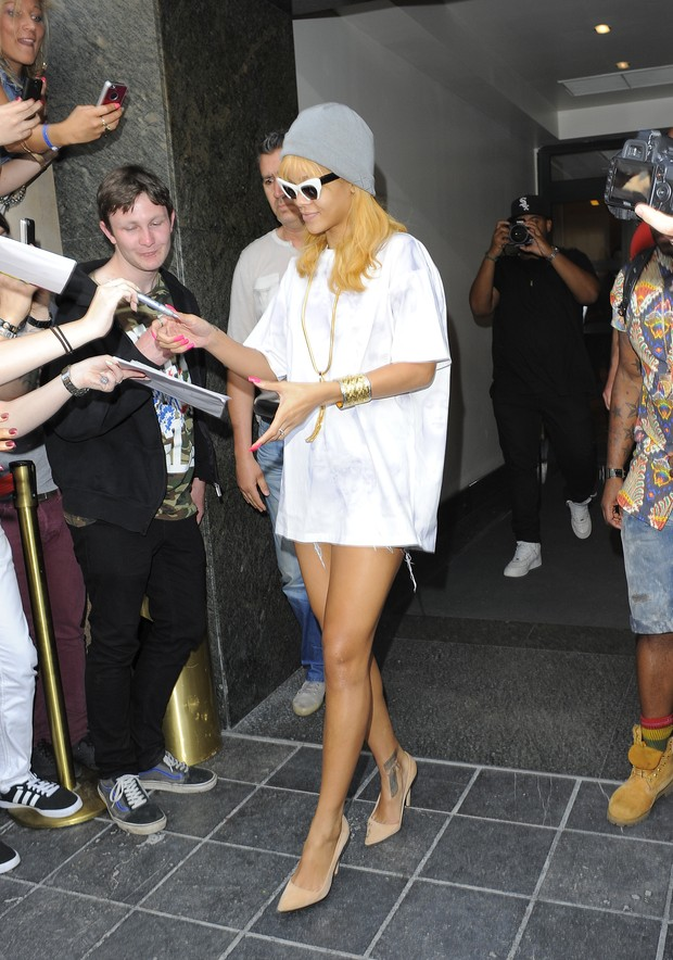 Rihanna (Foto: Agência Splash News)