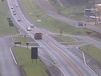 Em Cascavel, tráfego é considerado normal (Foto: Ecocataratas/Divulgação)