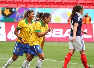 marta brasil 3 x 1 escócia torneio internacional de brasília (Foto: Andre Borges / GDF)